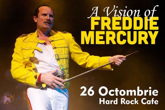 "Show-ul ""A Vision of MERCURY"" in premiera in Romania pe 26 octombrie"