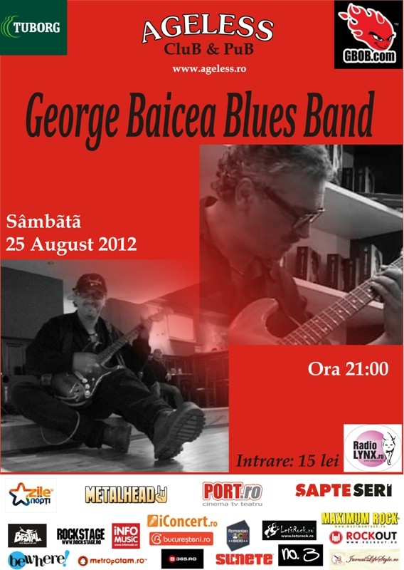 Concert George Baiecea Electric Blues Band in Ageless Club