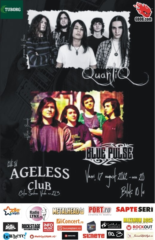 Concert QuantiQ si Blue Pulse in Ageless Club