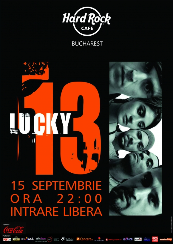Concert Lucky 13 in Hard Rock Cafe