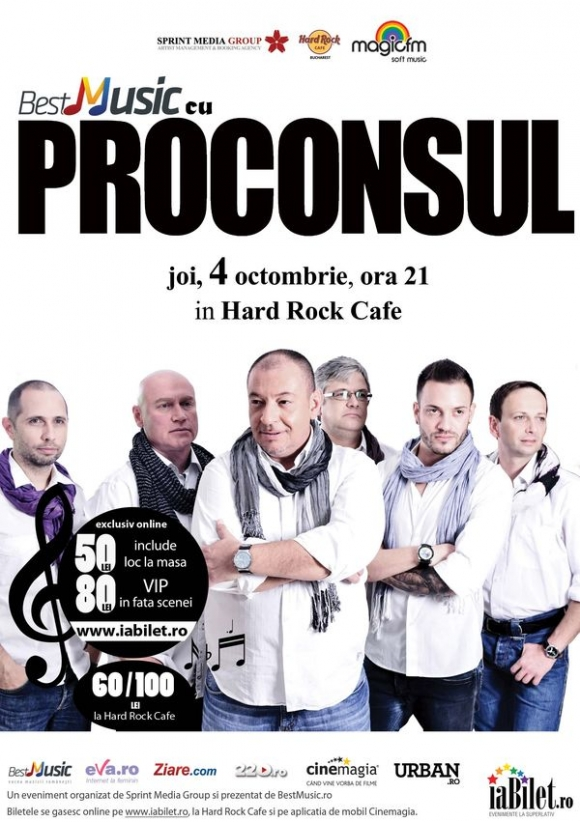 Concert Proconsul in Hard Rock Cafe
