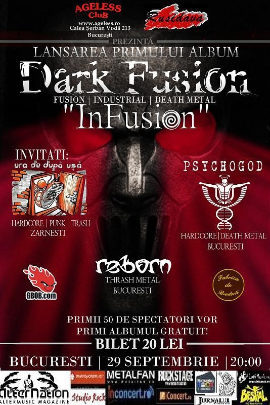 Dark Fusion lanseaza albumul InFusion in Ageless Club