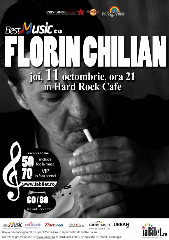 Concert Florin Chilian in Hard Rock Cafe