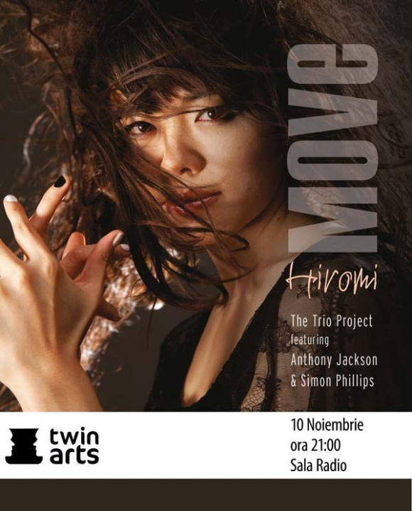 Concert Hiromi: The Trio Project la Sala Radio