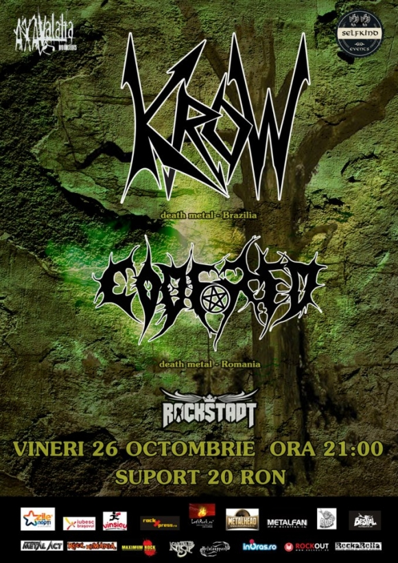 Concert Krow si Code Red in club Rockstadt