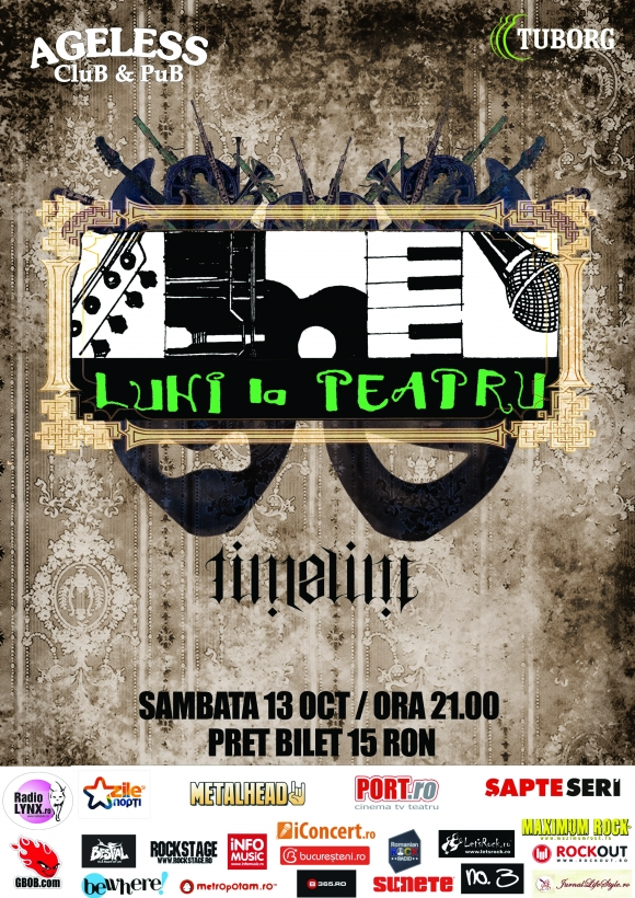 Concert Luni la teatru in Ageless Club