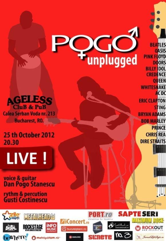 Concert Pogo Unplugged in Ageless Club