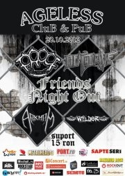 Concert Proof, Deathdrive, Arkham si Wilder In Club Ageless