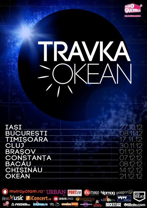 Travka lanseaza albumul Okean in club The Silver Church