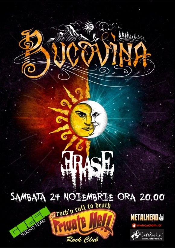 Concert Bucovina si Erase in club Private Hell