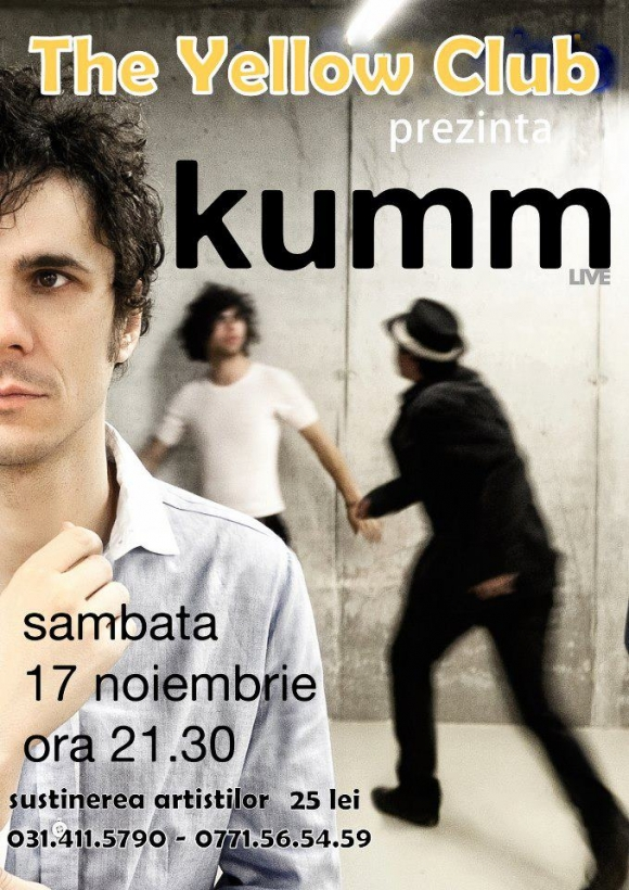 Concert KUMM live in Yellow Club Bucuresti