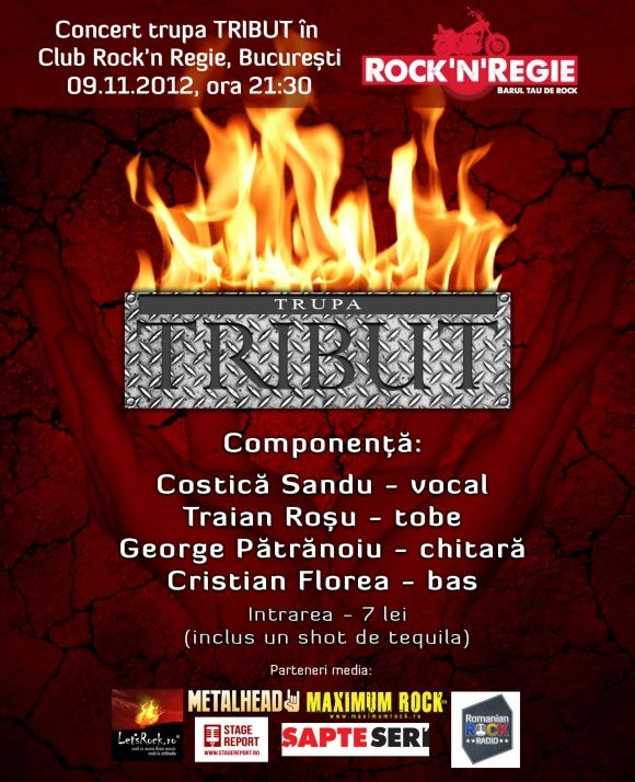 Concert Tribut in Club Rock'n Regie