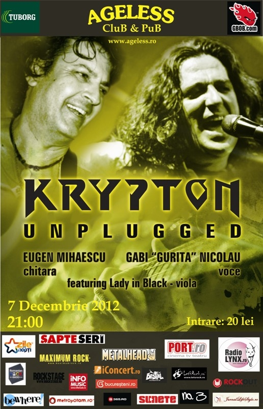 Concert unplugged Krypton in Ageless Club