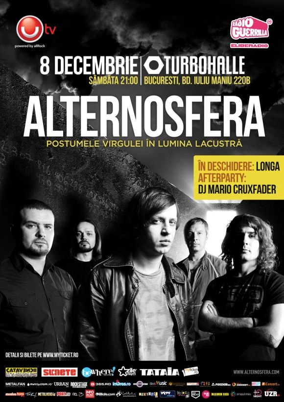 Alternosfera – concert eveniment la Turbohalle