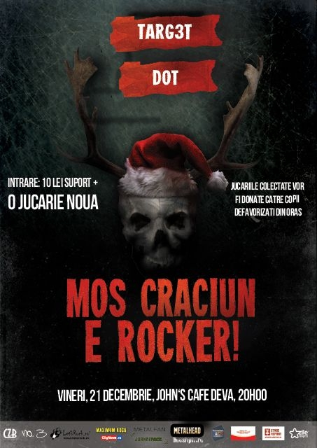 MOS CRACIUN E ROCKER 2012 - Targ3t si DOT in John's Cafe