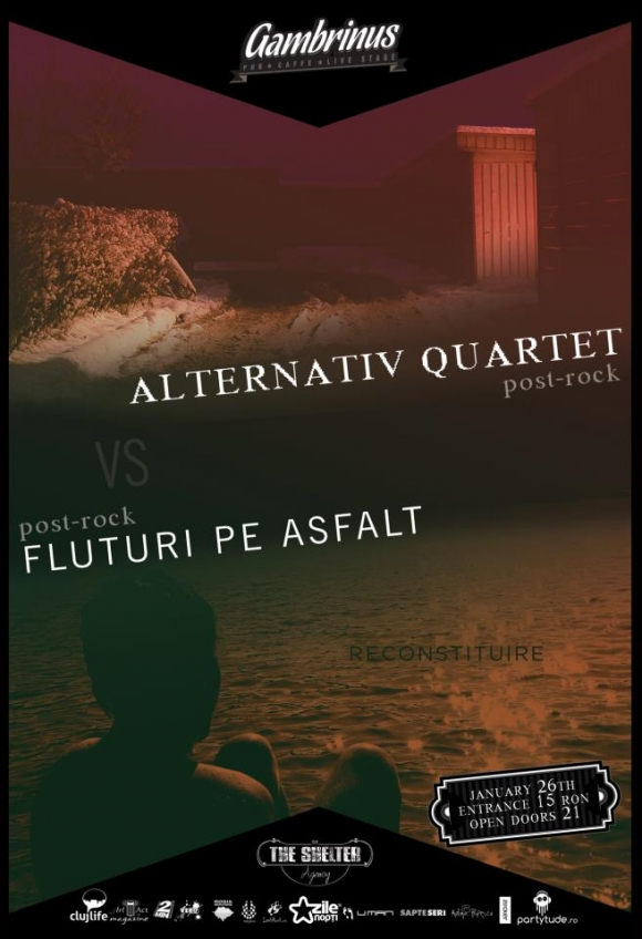 Alternative Quartet vs Fluturi Pe Asfalt in Gambrinus Pub