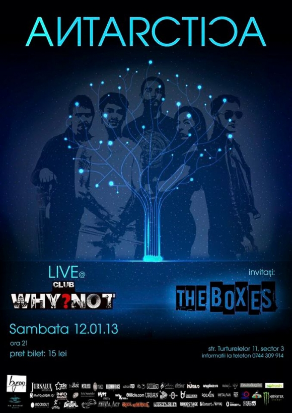 Concert Antarctica si The Boxes in Club Why Not