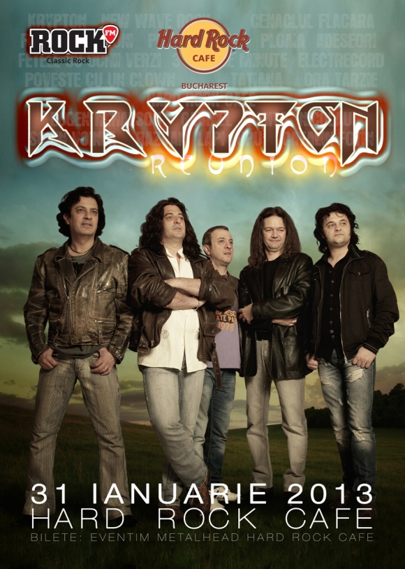 Concert Krypton in Hard Rock Cafe
