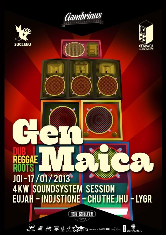 GENMAICA SOUNDSYSTEM - powered by Sucleeu in Gambrinus Pub
