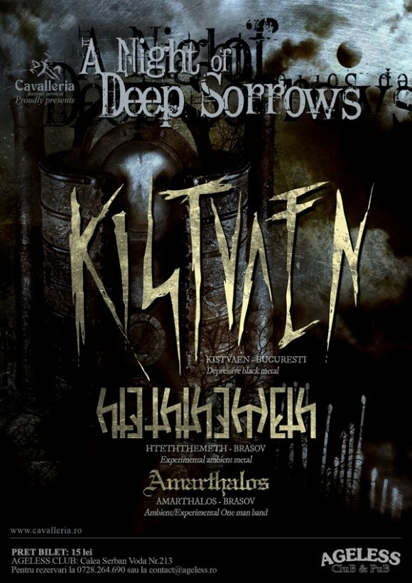 Kistvaen, Hteththemeth si Amarthalos in Ageless Club la A Night of Deep Sorrows