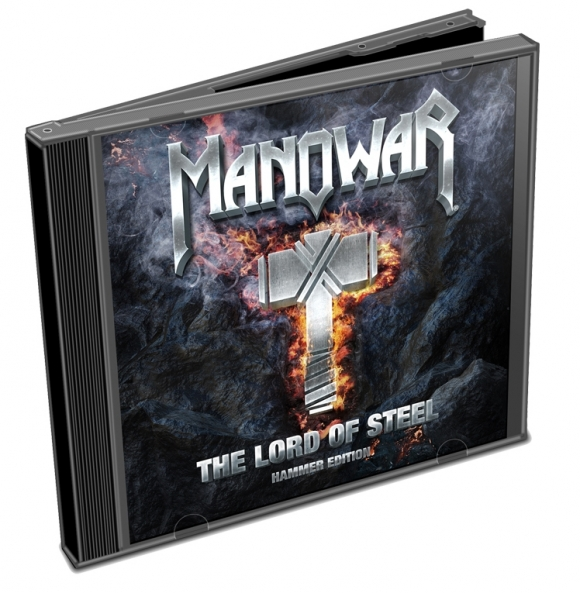 MANOWAR: CD-ul The Lord Of Steel - Hammer Edition disponibil exclusiv pe The Kingdom Of Steel