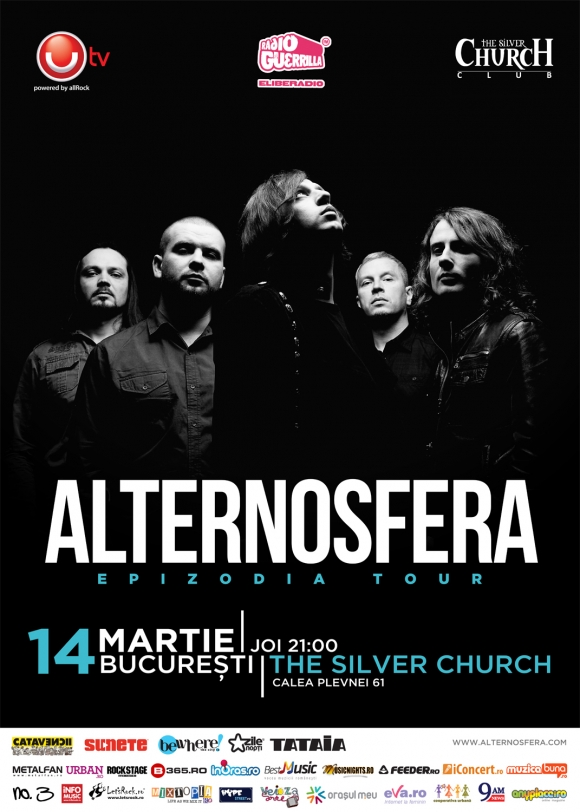 Alternosfera lanseaza cel mai nou album Epizodia in Club Silver Church din Bucuresti