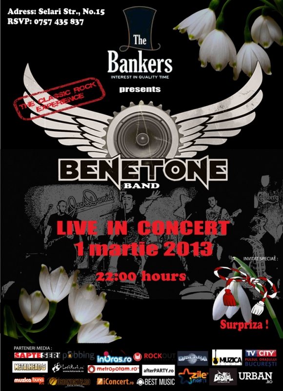 Concert Benetone Band in Bankers