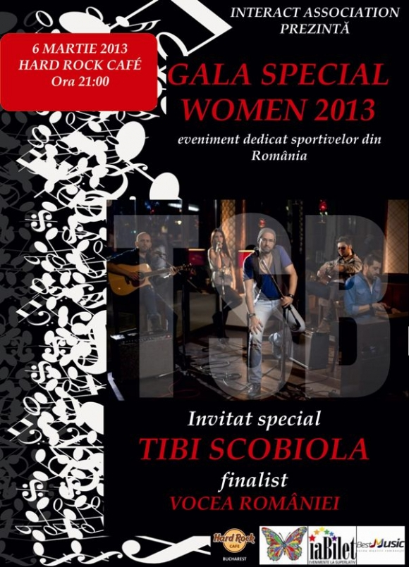 Concert Tibi Scobiola Band in Hard Rock Cafe
