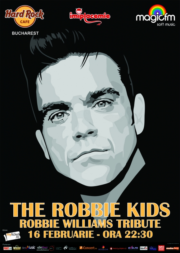 Concert Tribut Robbie Williams cu Robbie's Kids in Hard Rock Cafe