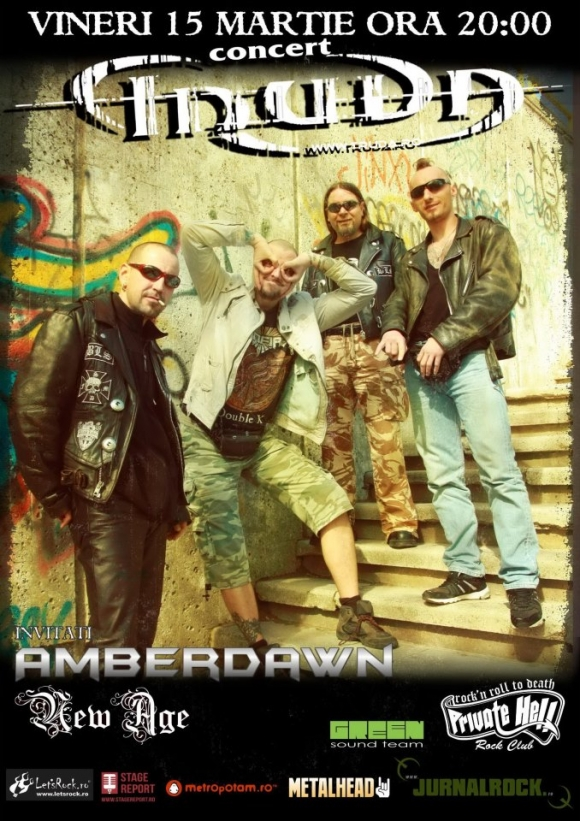 Concert Truda, Amberdawn si New Age in Private Hell Club