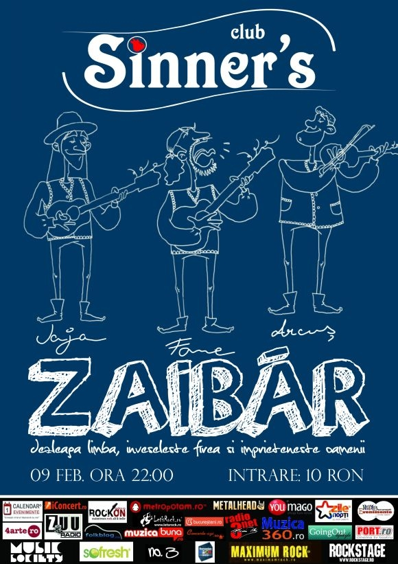 Concert Zaibar in Sinner's Club