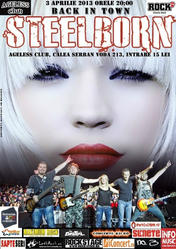 Concert Steelborn in Ageless Club