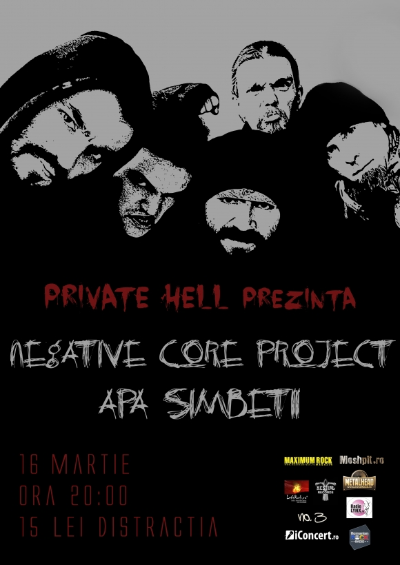 Negative Core Project revine in Club Private Hell