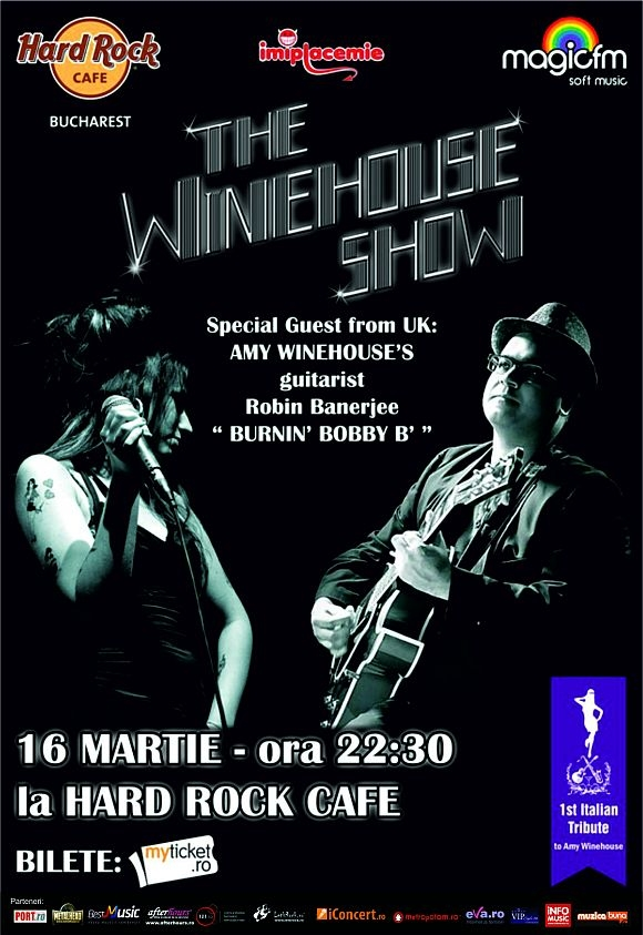 The Winehouse Show in Hard Rock Cafe din Bucuresti