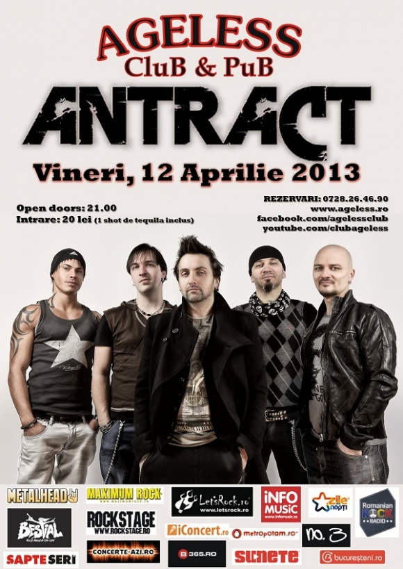 Antract concerteaza in Ageless Club