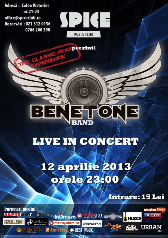 Concert Benetone in Spice Club