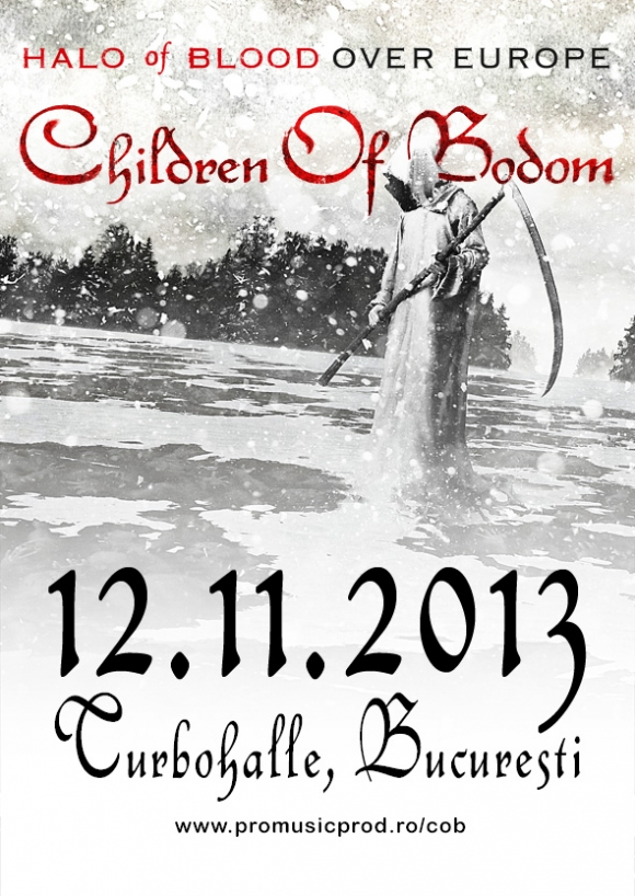 Concert Children Of Bodom in Romania la Turbohalle