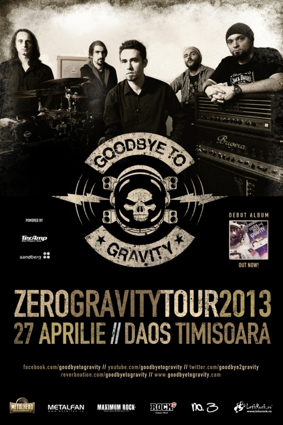 Concert Goodbye To Gravity, Luna Amara, Nomega in Club Daos din Timisoara