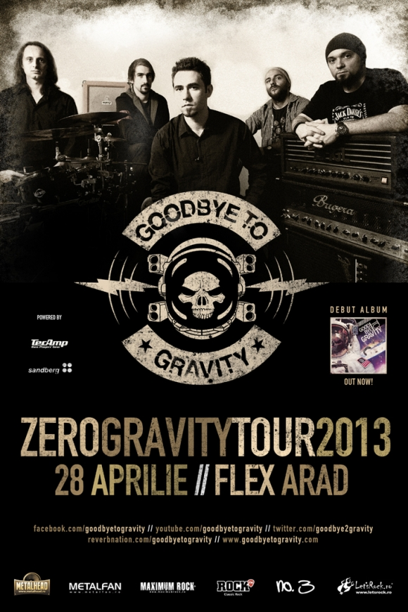 Concert Goodbye To Gravity in Club Flex din Arad