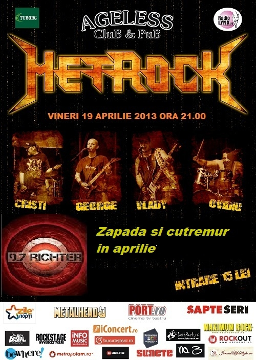 Concert Metrock in Ageless Club
