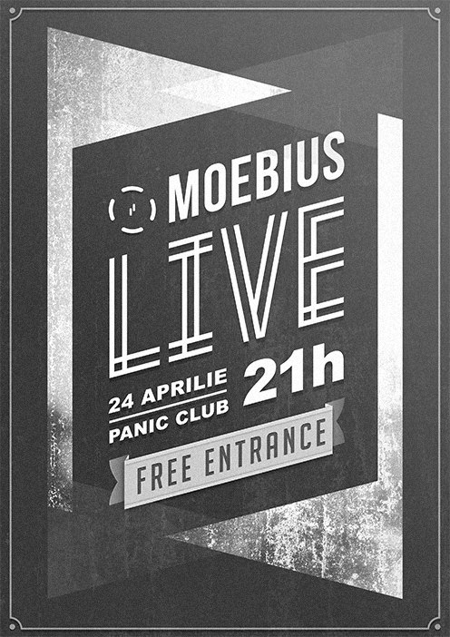 Concert Moebius in Panic! Club din Bucuresti