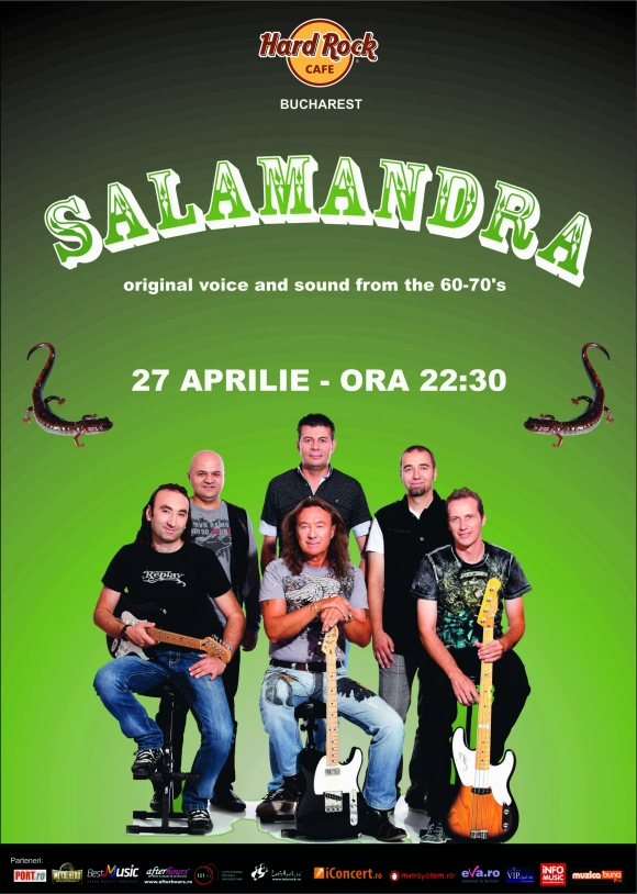 Concert Salamandra in Hard Rock Cafe