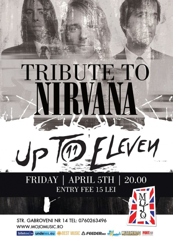 Concert Tribute to Nirvana - Up To Eleven in Mojo Club