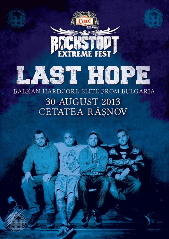 LAST HOPE (Bulgaria) la Rockstadt Extreme Fest   Let's Rock ro