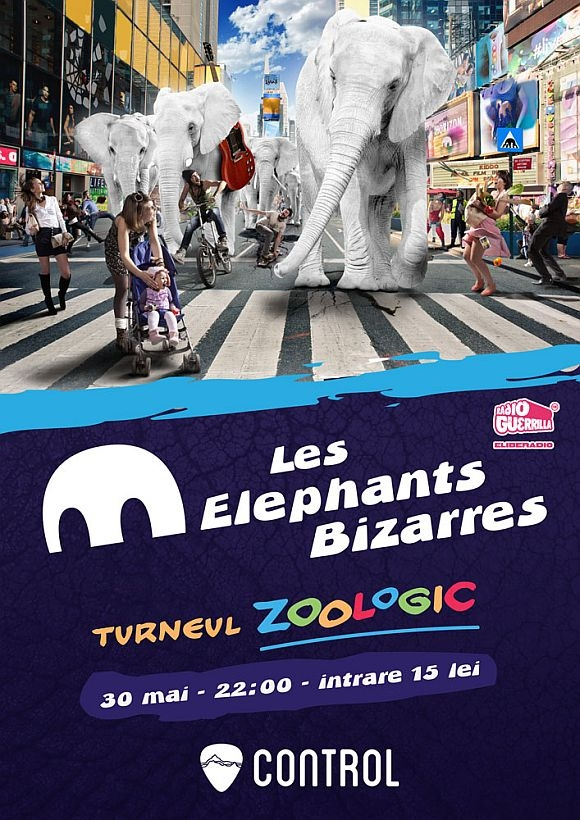 Concert Les Elephants Bizzares in Club Control
