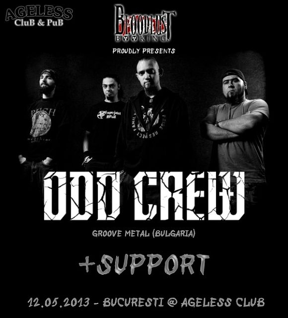 Concert Odd Crew si Deathdrive in Ageless Club din Bucuresti