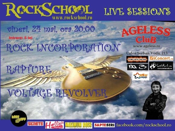 Rock School Live Session in Ageless Club