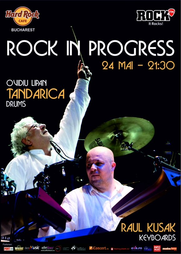 Rock in Progress cu Ovidiu Lipan Tandarica la Hard Rock Cafe