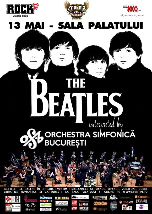 The Beatles Simfonic celebreaza iia romaneasca