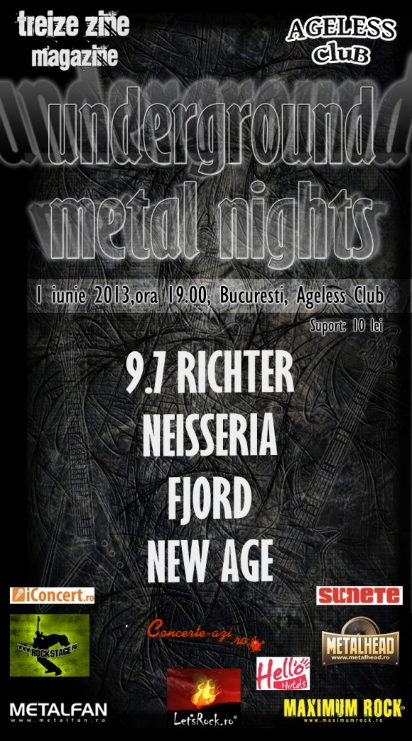 Underground Metal Nights in Ageless Club